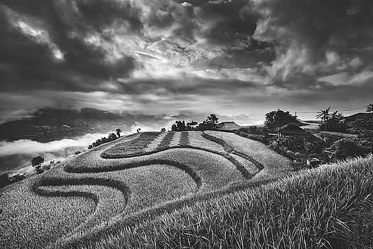 Sunrise In Rural Vietnam by Pixabay