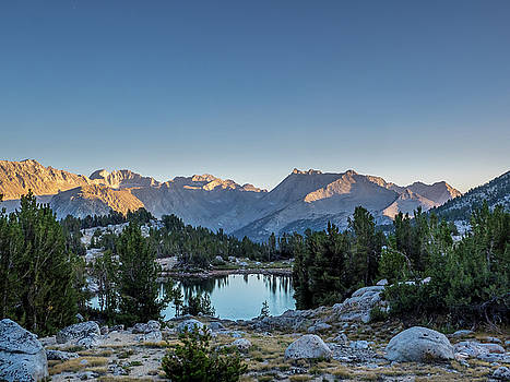 Sunrise, Mono Creek by Martin Gollery