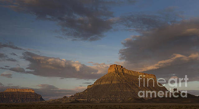 Sunrise over Factory Butte by Keith Kapple