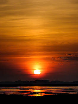 Sunrise over the Marsh by Terry Shoemaker
