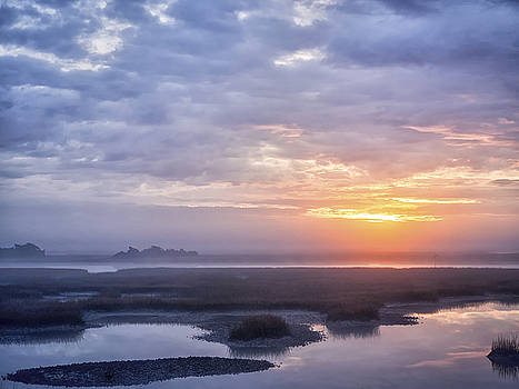 Sunrise Sunset Image Art - Good To Go by Jo Ann Tomaselli