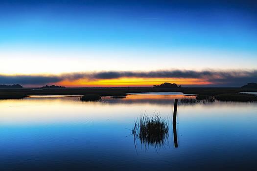 7 Am E.s.t. - Sunrise Sunset Image Art  by Jo Ann Tomaselli
