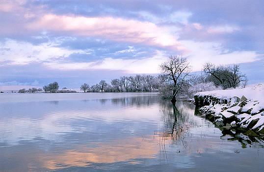 James Steele - Sunset at Fossel Creek. CO