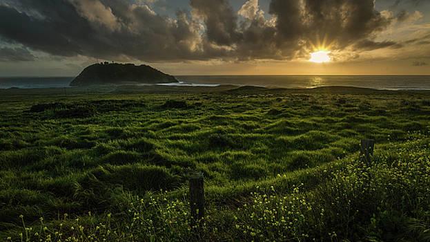 Rick Strobaugh - Sunset at Point Sur