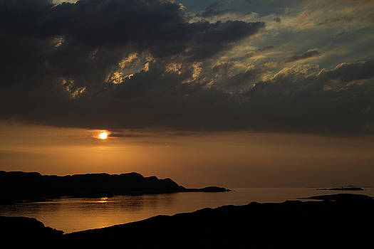 Sunset from Mull by Russell Millner