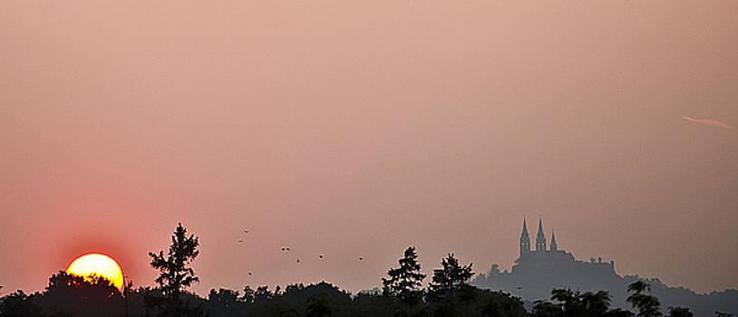 Sunset over Holy Hill 4 by Jennifer Brindley