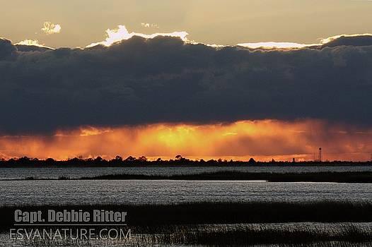 Sunset Wallops 4361 by Captain Debbie Ritter