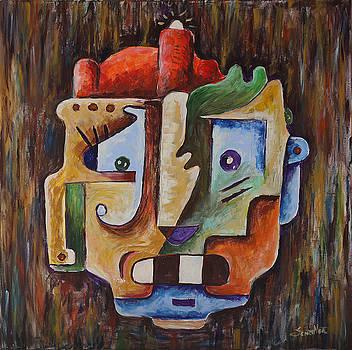 Surrealism Head by Sotuland Art
