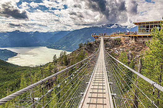 Suspension Bridge by Pierre Leclerc Photography