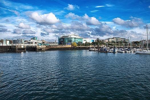 Sutton Harbour Plymouth by Chris Day