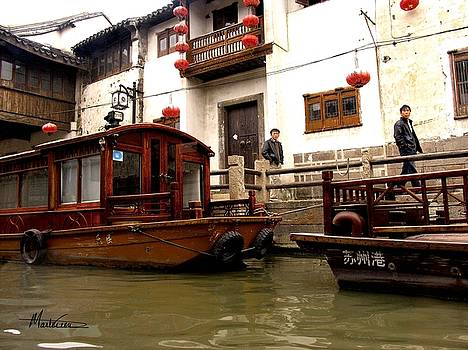 Suzhou Canal by Marti Green