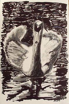 Swan by Rene  Kier