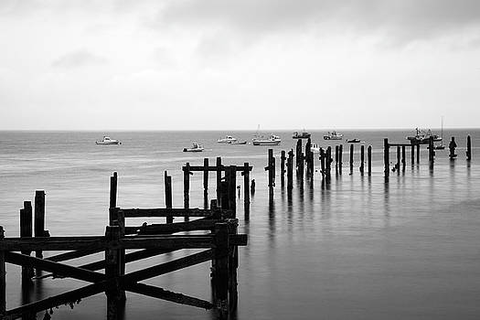 Swanage old Pier by Ian Middleton