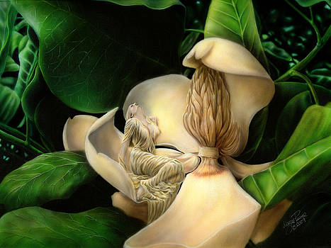 Sweet Smell of Magnolia's by Wayne Pruse