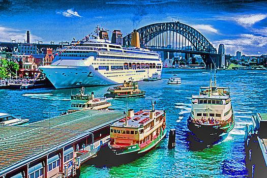 Dennis Cox - Sydney Quay