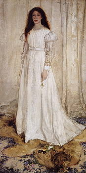 Symphony In White No. 1 - The White Girl  by James Abbott McNeill Whistler