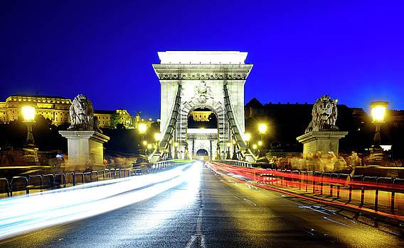 Szechenyi Chain Bridge by Fabrizio Troiani