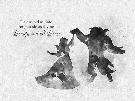 Tale as old as time Black and White by My Inspiration