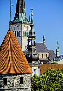 Dennis Cox WorldViews - Tallinn Steeples