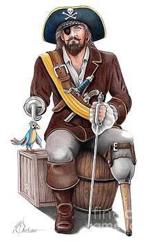 Tampa Pirate by Murphy Elliott