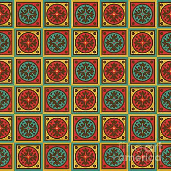 Tapestry pattern by Gaspar Avila