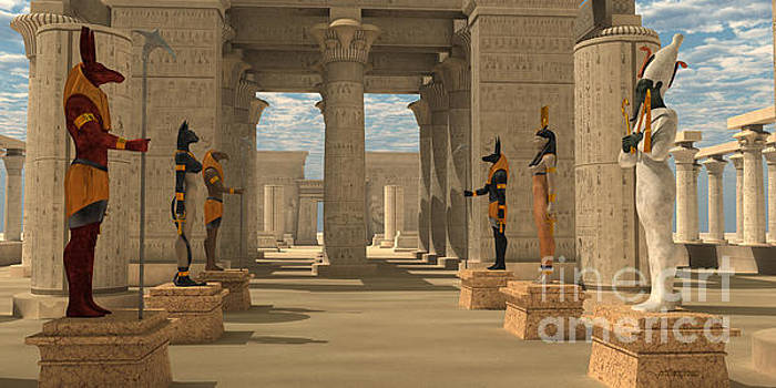 Corey Ford - Temple of Ancient Pharaohs