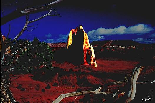 Temple of the Moon 2 by John Foote