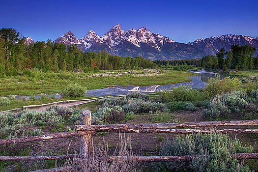 Teton Countryside by Andrew Soundarajan
