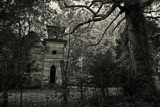 The Abandoned Church by George Taylor