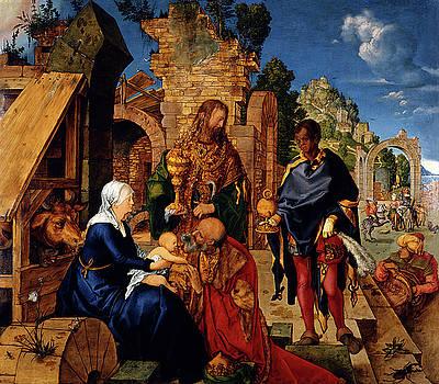 Albrecht Durer - The Adoration of the Magi