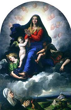 Girolamo da Carpi - The Apparition of the Virgin