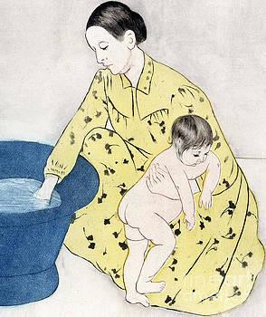 Mary Stevenson Cassatt - The Bath