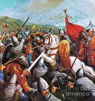 English School - The Battle of Hastings