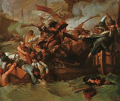 West Benjamin - The Battle Of La Hogue Destruction