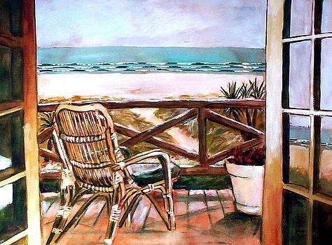 The Beach Chair by Winsome Gunning