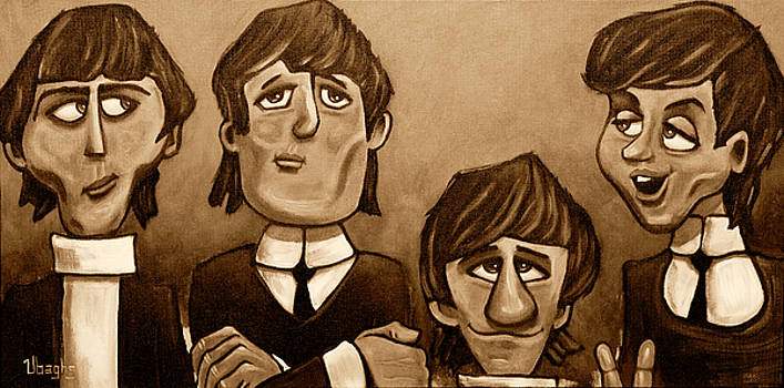 The Beatles by Bryan Ubaghs
