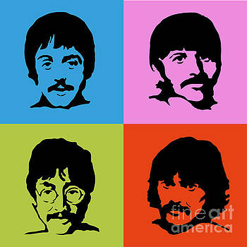 The Beatles Colors by Caio Caldas