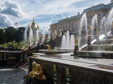 The beautiful Peterhof Palace is a must-see St Petersburg attraction by Tamara Sushko