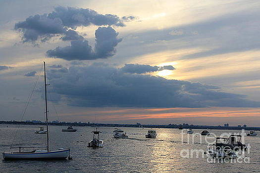 The Blue Hour Over The Bay by Dora Sofia Caputo Photographic Design and Fine Art