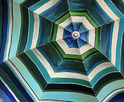 The Blue Umbrella by Taunya Bruns