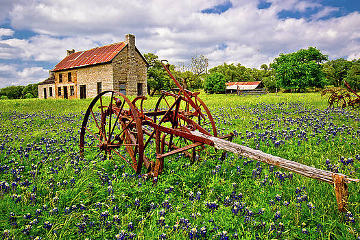 The Bluebonnet House by Linda Unger