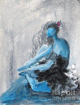 The Blues #3 by Patricia Riascos