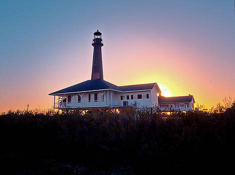 The Bolivar Lighthouse by Linda Unger