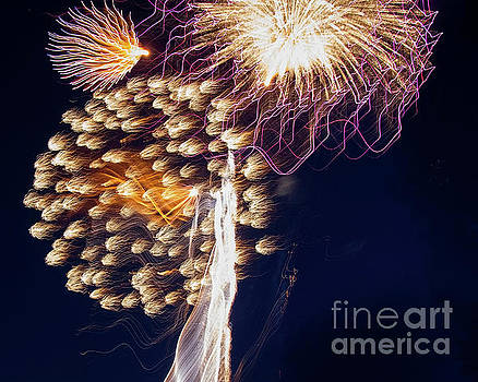 The Bombs Bursting in Air by Gary Holmes