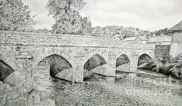 The Bridge over the Barle by Stuart Attwell