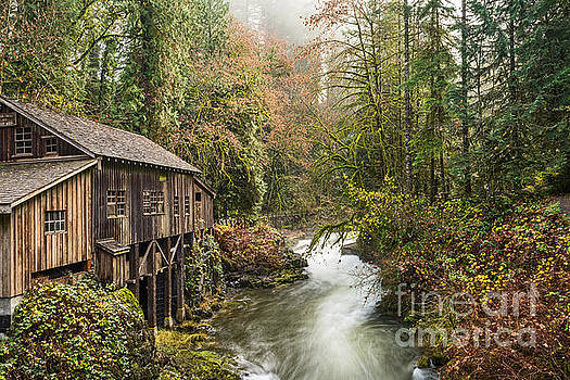Jamie Pham - The Cedar Creek Grist Mill in Washington State.