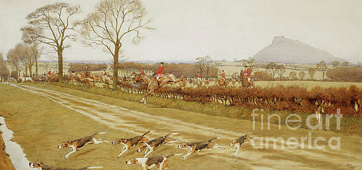 Cecil Charles Windsor Aldin - The Cheshire - Away from Tattenhall
