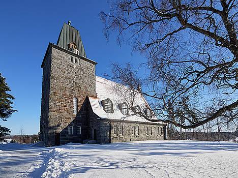 The Church of Karkku by Jouko Lehto