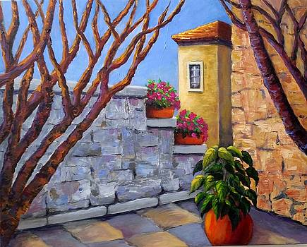 The Courtyard by Rosie Sherman
