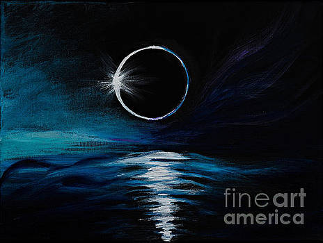 The Eclipse by Art by Danielle